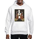 Vintage Queen of Hearts Hooded Sweatshirt