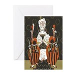 Vintage Queen of Hearts Greeting Cards (Pk of 10)