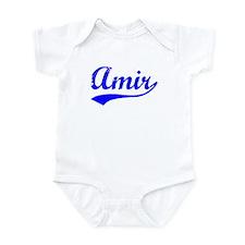 Vintage Amir (Blue) Infant Bodysuit