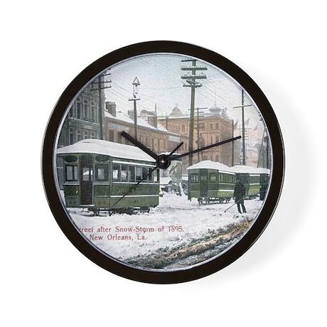 New Orleans Art Wall Clock