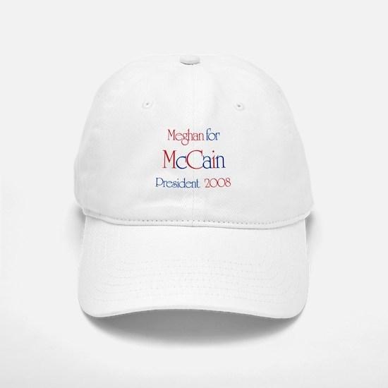 McCain for President - Meghan Baseball Baseball Cap