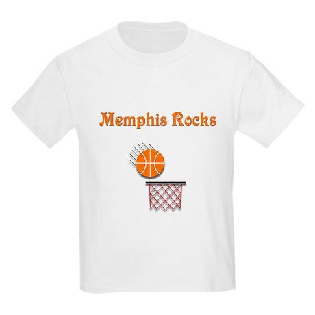 Memphis Rocks Kids Light T-Shirt