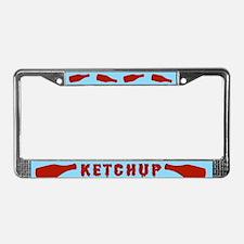 Bottles of Ketchup License Plate Frame