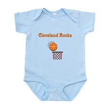 Cleveland Rocks Infant Bodysuit