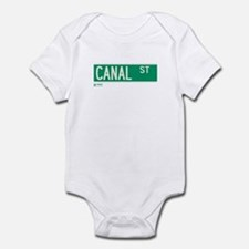 Canal Street in NY Infant Bodysuit