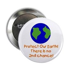 Protect Our Earth Button