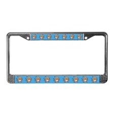 Dancing Monkey License Plate Frame