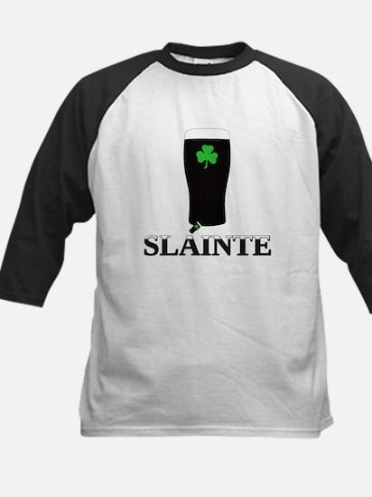 Slainte Irish Stout Kids Baseball Jersey