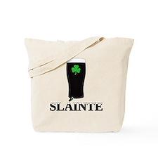Slainte Irish Stout Tote Bag