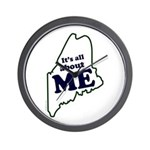 It's All About Maine Wall Clock