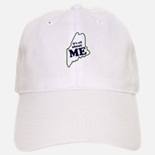 It's All About Maine Baseball Baseball Cap