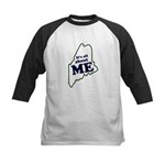 It's All About Maine Kids Baseball Jersey
