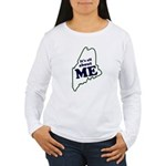 It's All About Maine Women's Long Sleeve T-Shirt