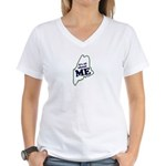 It's All About Maine Women's V-Neck T-Shirt