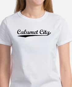 Vintage Calumet City (Black) Tee