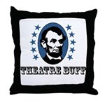 Theatre Buff Throw Pillow
