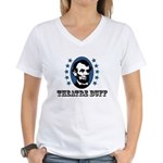 Theatre Buff Women's V-Neck T-Shirt