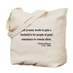 Thomas Jefferson 4 Tote Bag