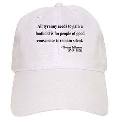 Thomas Jefferson 4 Baseball Cap