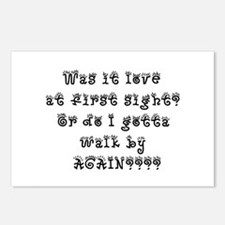 Love at 1st Sight Postcards (Package of 8)
