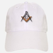 Masonic Square and Compass Baseball Baseball Cap