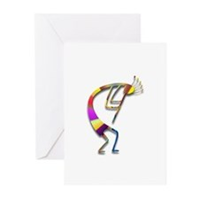 One Kokopelli #86 Greeting Cards (Pk of 10)