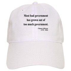 Thomas Jefferson 8 Cap