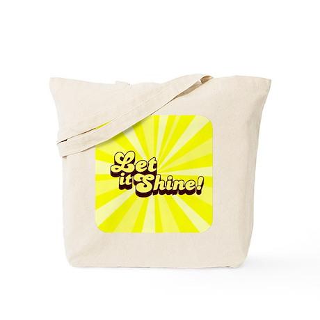 Let it Shine Christian Tote Bag