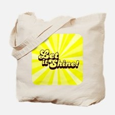 Let it Shine Christian Tote Bag