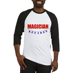 Retired Magician Baseball Jersey