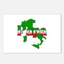 Italian Papa Postcards (Package of 8)