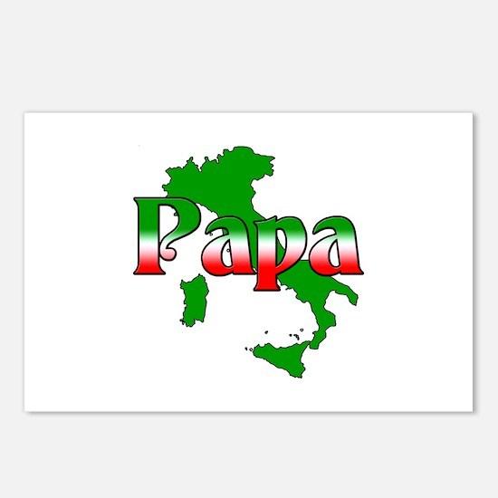 Italian Papa Postcards (Package of 8)