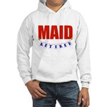Retired Maid Hooded Sweatshirt