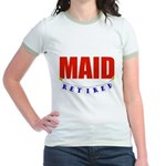 Retired Maid Jr. Ringer T-Shirt