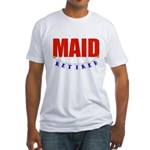 Retired Maid Fitted T-Shirt
