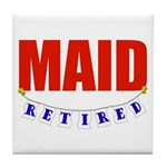 Retired Maid Tile Coaster