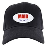 Retired Maid Black Cap