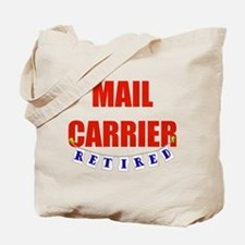 Retired Mail Carrier Tote Bag