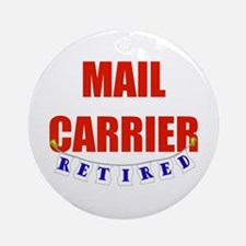Retired Mail Carrier Ornament (Round)