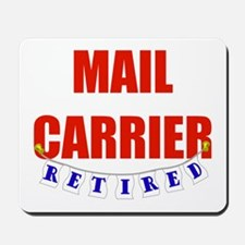 Retired Mail Carrier Mousepad