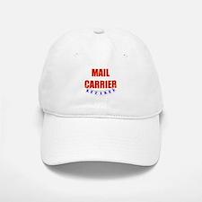 Retired Mail Carrier Baseball Baseball Cap