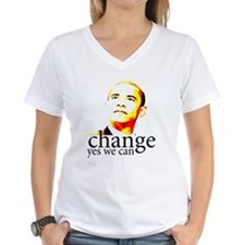 Barack Obama Change Yes We Ca Shirt