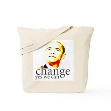 Barack Obama Change Yes We Ca Tote Bag