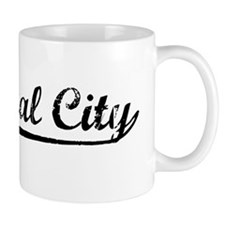 Vintage Cathedral .. (Black) Mug