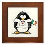 Ireland Penguin Framed Tile