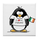 Ireland Penguin Tile Coaster