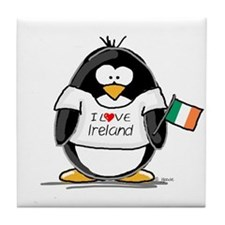 Ireland Penguin Tile Coaster
