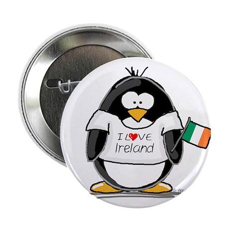 "Ireland Penguin 2.25"" Button"