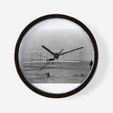 Wright Brothers First Flight Wall Clock