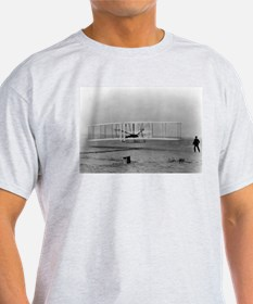 Wright Brothers First Flight Ash Grey T-Shirt